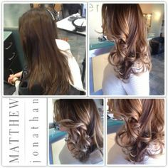 Sombre the new ombre/Balayage Foils Matthew Jonathan hairstylist/oakville hair salon