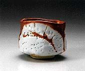 SUZUKI Osamu : Shino tea bowl, 1997