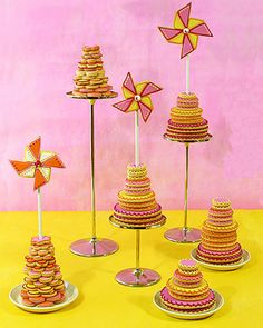 Cookie pinwheels by Julia M. Usher. Originally published in Mary Engelbreit's Home Companion.