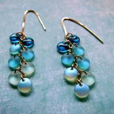 Turquoise Drops by Molly Schaller - some of my favorite earrings to wear