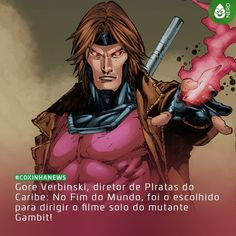 #CoxinhaNews Agora sim estou vendo o filme ir para frente!  #TimelineAcessivel #PraCegoVer  Imagem do mutante Gambit e a notícia: Gore Verbinski diretor de Piratas do Caribe: No Fim do Mundo foi o escolhido para dirigir o filme solo do mutante Gambit!  TAGS: #coxinhanerd #nerd #geek #geekstuff #geekart #nerd #nerdquote #geekquote #curiosidadesnerds #curiosidadesgeeks #coxinhanerd #coxinhafilmes #filmes #movies #Cinema #euamocinema #adorocinema #marvel #marvelmovies #fox #gambit #xmen