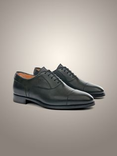 Printed calfskin Oxford #shoes with toe cap, with leather sole #Corneliani #FW15