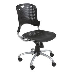 Task office chair - Pin it :-) Follow us :-)) AzOfficechairs.com is your Office chair Gallery ;) CLICK IMAGE TWICE for Pricing and Info :) SEE A LARGER SELECTION of  task  office chair at http://azofficechairs.com/category/office-chair-categories/task-office-chair/ - office, office chair, home office chair -  Balt Circulation Task Chair, Black, 1 Carton « AZofficechairs.com