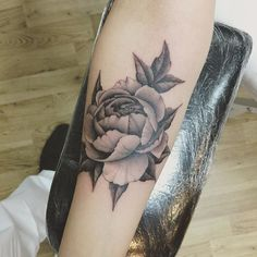 Botanical peonies tattoo from frith street tattoo by macintosholiver@gmail.com