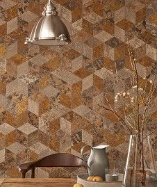 Etched Hexagonal Tile