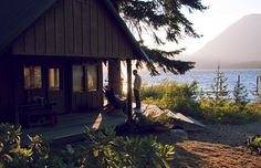 perfect. cabin on a lake.[photo by ttwice, via Flickr]