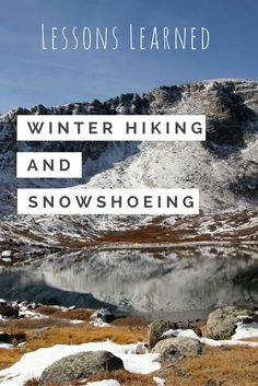 Advice for outdoor winter adventures. Snowshoeing and winter hiking are great budget-friendly ways to see and experience the outdoors. Winter Hiking, Winter Camping, Winter Travel, Winter Gear, Travel Advice, Travel Tips, Travel Hacks, Travel Info, Budget Travel