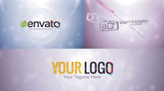 Elegant Wave Logo - FREE AFTER EFFECTS TEMPLATE
