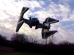 TIE Interceptor Drone ... These drones that follow you are awesome, check them out in our site