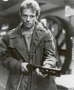 "Kyle Reese ""The Terminator"" also known as Michael Biehn."