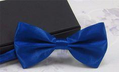 Solid Color Tuxedo Bowtie