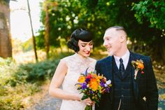 Vintage Glam New York Wedding | Redfield Photography