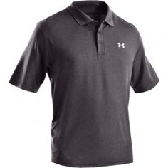 Under Armour Mens UA Performance Polo - Carbon - Mills Fleet Farm