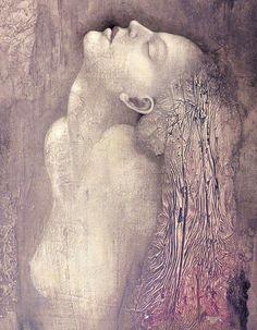 Catherine La Rose: ✿ Pavel BERGR ✿'E dimmi una volta...  che m'ami...  dimmelo sincero  senza una piega di voce  fallo scivolare  scivolare sinuoso  tra i capelli dolcemente  penetrarmi di linfa  fino al midollo  poi dimorare in un brivido  così...  tra le curve della carne  nella dinamica dei sensi  la tua voce invadermi  come fossi già mio  come se già  parte nobile   fossi...  del mio respiro...'    ~ Catherine La Rose©2012 ~