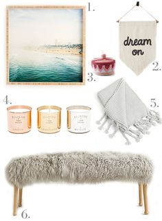Cute room accessories