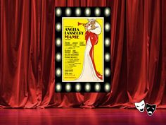 """Mame"" Broadway poster http://www.pinterest.com/donwinston/the-gristmill-playhouse/ http://www.donwinston.com"