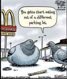 Dieting Humor - Best Funny Jokes and Hilarious Pics Cartoon Jokes, Funny Cartoons, Food Cartoon, Cartoon Images, Beste Comics, Funny Quotes, Funny Memes, Funny Gifs, Memes Humor