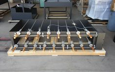 This little rotisserie does 85 chickens, 17 pork loins or bellies, or lots of beef and lamb