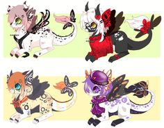 This is a closed specied made bywhitebunny-adopts You can read about them here : Sparklegon-Brillogon - 1 Quiet Pink: Mine, sorry ;w;Uu 2Red mystic Butterfly: SOLDKayzieRaic...