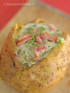 pomme de terre farcie à l'oseille ©cocineraloca.fr