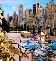 Click through these inspiring sky-high spaces and find all you need to create your own urban oasis.
