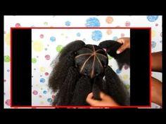 Crown_Halo Twist _ Kids Natural Hair _ Back To School Hairstyles _ IAMAWOG - YouTube