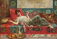 Harem girl. Odalisque was sexual slave in The Ottoman palace. Especially the…