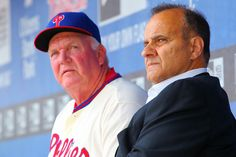 Charlie Manuel and Joe Torre