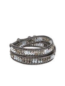 Nakamol Silver Beaded Wrap Bracelet Fall Accessories Bracelets Beads Jewelry