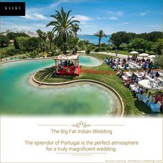 Bring in your special day amongst the grandeur in Portugal. Wouldn't you like to get married here?