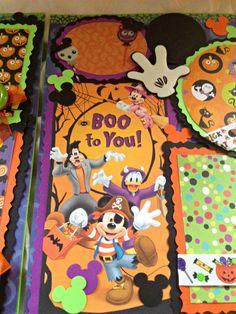 Disney Halloween Mickey Mouse Trick or by kariskraftkorner3301