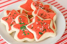 easy soft sugar cookies Christmas frosting decorating