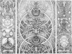 David Chaim Smith 'Blood of Space Speaks (2009-2010)