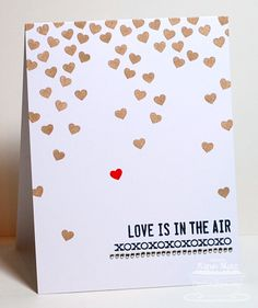 Paper Playhouse: Love is in the Air