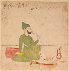 Raja Brajraj, Dev of Jammu (1781 - 1787)  Rajput, Pahari  Kangra Hills, India  Opaque watercolor on paper  Late 18th century