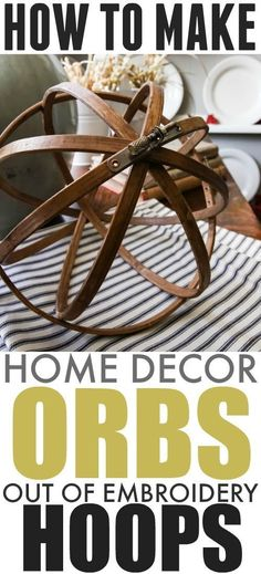 Great for DIY fall decor, this classic orb will look amazing in your home. Skip the expensive store-bought items and make this yourself. Here
