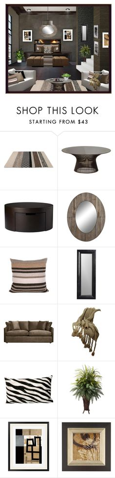 """Untitled #4679"" by julissag ❤ liked on Polyvore featuring interior, interiors, interior design, home, home decor, interior decorating, Matta, Knoll, Cooper Classics and Olsson"