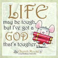 A tough God!