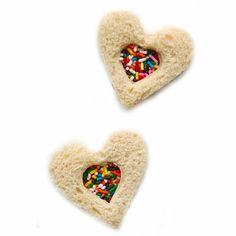 Miniature Fairy Bread Tea Sandwiches
