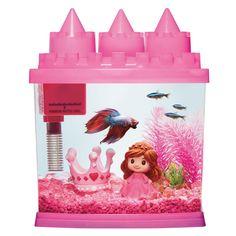 Top Fin® Princess Aquarium - 1 Gallon at PetSmart. Shop all fish starter kits online Princess Toddler Bed, All Fish, Wild Bird Food, Pet Costumes, Pet Memorials, Betta Fish, Starter Kit, Habitats, Christmas Gifts