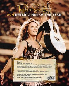 Entertainer of the Year!
