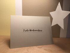 Schnelle Weihnachtskarte zur Stempelchallenge - papiervonmir