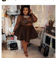 66327c54b78 Plus Size Looks
