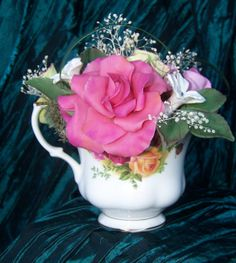 Tea Cup Cake Topper by icantopthat on Etsy, $49.00