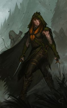 Woodland Guardians by Earl-Graey.deviantart.com on @DeviantArt
