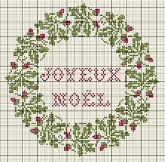 Le calendrier de l'Avent aux couronnes - Noël 2014 TRESORS DE BOITES A COUTURE Couronne de Noel