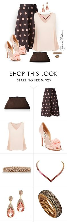 """""""Untitled #2958"""" by lynnspinterest ❤ liked on Polyvore featuring RED Valentino, Miss Selfridge, Badgley Mischka, Carolina Bucci, Socheec and 2958"""