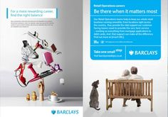 Barclays Recruitment Advertising, Business, Design, Store, Business Illustration, Design Comics