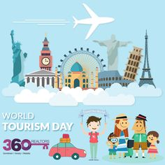 Enrich your life by travelling. Make memories all over the world.  Learn about different cultures. Happy #WorldTourismDay !  #travel #wtd2016