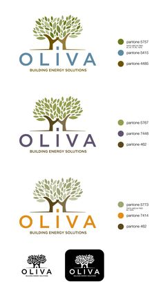 Logo Design by Synco Creative Direction for Oliva - Building Energy Solutions - Design #3655